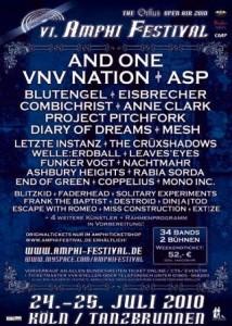 Amphi-Festival 2010 in Köln