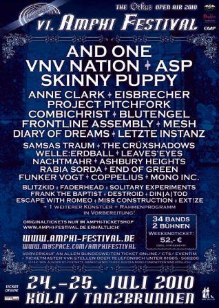 Plakat Amphi-Festival