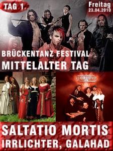 Brückentanz Festival 1. Tag